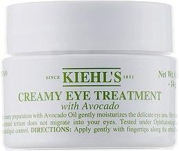 Parfémy, Parfumerie, kosmetika Oční krém s avokádem - Kiehl`s Creamy Eye Treatment with Avocado