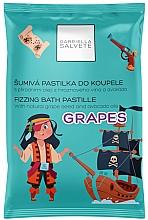 Parfémy, Parfumerie, kosmetika Šumivá pastilka do koupele - Gabriella Salvete Fizzing Bath Pastille Grapes