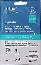Parfémy, Parfumerie, kosmetika Maska-obklad na obličej - Tolpa Dermo Face Hydrativ Moisturizing Relaxing Mask