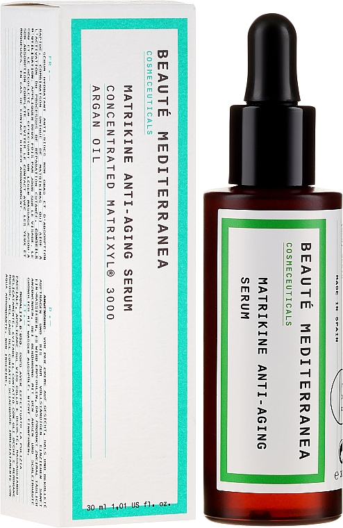 Peptidové sérum pro omlazení pleti - Beaute Mediterranea Matrikine Anti-aging Serum