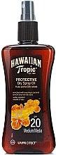 Parfémy, Parfumerie, kosmetika Suchý olej na opalování - Hawaiian Tropic Protective Dry Oil SPF20