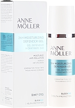 Parfémy, Parfumerie, kosmetika Hydratační gel na obličej - Anne Moller Blockage 24h Moisturizing Defender Gel