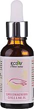 Parfémy, Parfumerie, kosmetika Posilující olej na nehty a nehtovou kůžičku - Eco U Super Strengthening Cuticle & Nail Oil