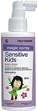 Parfémy, Parfumerie, kosmetika Sprej na vlasy - Frezyderm Sensitive Kids Magic Spray for Girls