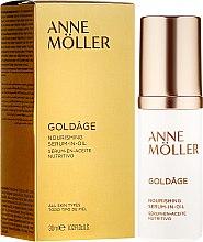 Parfémy, Parfumerie, kosmetika Výživné sérum na obličej - Anne Moller Goldage Nourishment Serum-in-Oil