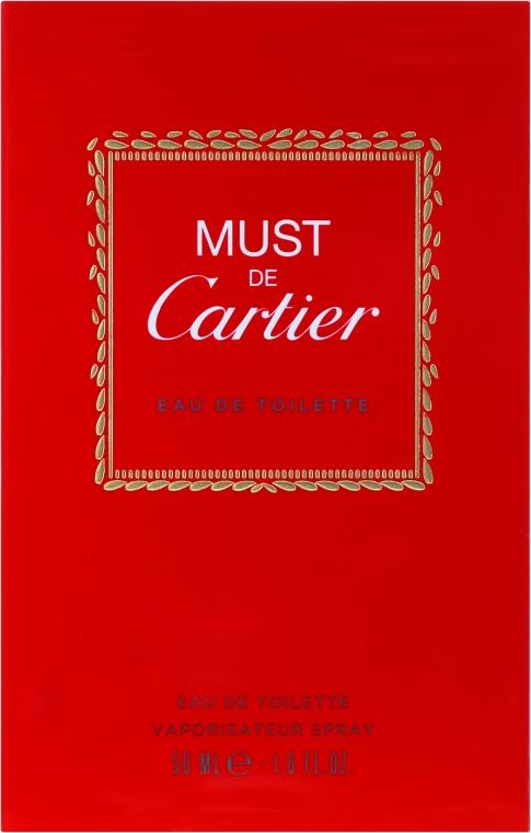 Cartier Must de Cartier - Toaletní voda — foto N1