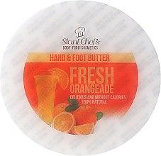 Parfémy, Parfumerie, kosmetika Krémové máslo na ruce a nohy Čerstvý pomeranč - Hristina Stani Chef's Fresh Orangeade Hand Foot Butter