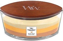 Parfémy, Parfumerie, kosmetika Vonná svíčka ve sklenici - WoodWick Golden Treats Ellipse Candle