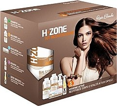 Parfémy, Parfumerie, kosmetika Obnovující sada na vlasy - H.Zone (shm/500/ml + lot/500/ml + spray/250/ml + serum/150/ml + towel)
