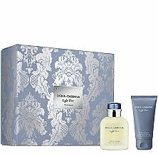 Parfémy, Parfumerie, kosmetika Dolce&Gabbana Light Blue Pour Homme - Sada (edt/75ml + ash/balm/50ml)