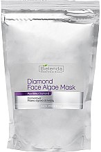 Parfémy, Parfumerie, kosmetika Briliantová alginátová maska na obličej - Bielenda Professional Diamond Face Algae Mask (náhradní náplň)