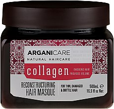 Parfémy, Parfumerie, kosmetika Kolagenová maska na vlasy - Arganicare Collagen Reconstructuring Hair Masque