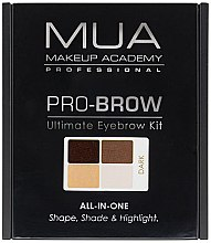 Parfémy, Parfumerie, kosmetika Sada na úpravu obočí - MUA Pro-Brow Ultimate Eye Brow Kit