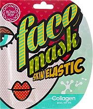 Parfémy, Parfumerie, kosmetika Gelová liftingová maska na obličej s kolagenem - Bling Pop Collagen Skin Elastic Face Mask