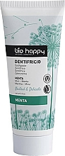 Parfémy, Parfumerie, kosmetika Zubní pasta s extraktem z máty - Bio Happy Neutral&Delicate Toothpaste Mint Flavor