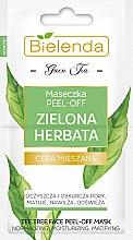 Parfémy, Parfumerie, kosmetika Čistící obličejová maska pro kombinovanou pleť - Bielenda Green Tea Peel-Off Face Mask