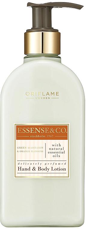 Lotion na ruce a tělo s mandarinkou a pomerančovým květem - Oriflame Essense & Co.