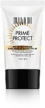 Parfémy, Parfumerie, kosmetika Primer s ochranou SPF 30 - Milani SPF 30 Prime Protect SPF 30 Face Primer