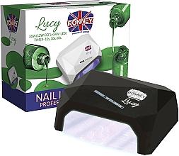 Parfémy, Parfumerie, kosmetika Lampa CCFL+LED, černá - Ronney Profesional Lucy CCFL + LED 38W (GY-LCL-021) Lamp