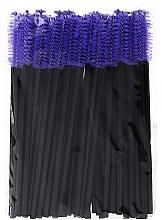 Parfémy, Parfumerie, kosmetika Nylonové kartáčky na řasy, černo-modré - Novalia Group