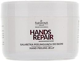 """Parfémy, Parfumerie, kosmetika Peeling na ruce """"Broskvové ruce"""" - Farmona Professional Brzoskwiniowe Dlonie"""