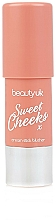 Parfémy, Parfumerie, kosmetika Tvářenka v tyčince - Beauty UK Sweet Cheeks Cream Stick Blusher