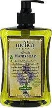 Parfémy, Parfumerie, kosmetika Tekuté mýdlo Levandule - Melica Organic Lavander Liquid Soap