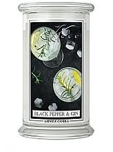 Parfémy, Parfumerie, kosmetika Vonná svíčka ve skle - Kringle Candle Black Pepper Gin