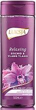 Parfémy, Parfumerie, kosmetika Sprchový gel - Luksja Relaxing Orchid & Ylang Ylang Shower Gel