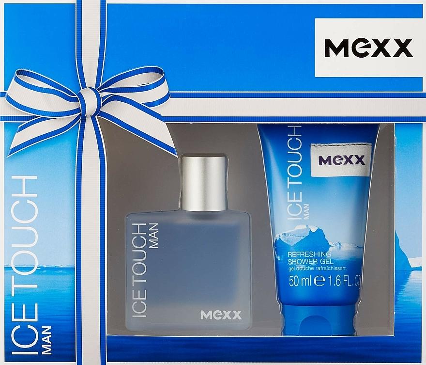 Mexx Ice Touch Man - Sada (edt/30ml + sh/gel/50ml)