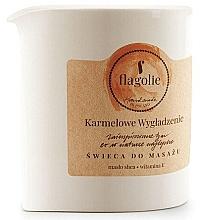 Parfémy, Parfumerie, kosmetika Masážní svíčka Vyhlazující karamel - Flagolie Caramel Smoothing Massage Candle