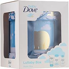 Parfémy, Parfumerie, kosmetika Sada - Dove Baby Rich Moisture (shmp/200ml + b/lot/200ml + cr/45g)
