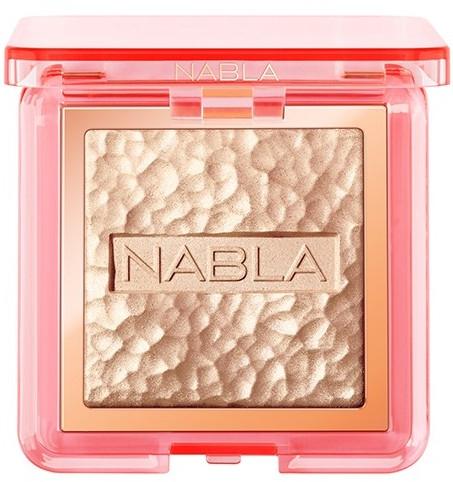 Rozjasňovač na obličej - Nabla Skin Glazing Highlighter