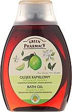 Parfémy, Parfumerie, kosmetika Olej do sprchy a koupele Bergamot a limetka - Green Pharmacy