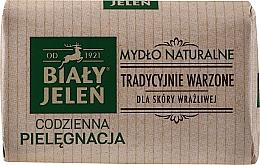Parfémy, Parfumerie, kosmetika Hypoalergenní přírodní mýdlo - Bialy Jelen Hypoallergenic Natural Soap Premium