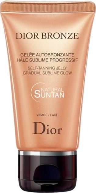 Samoopalovač na obličej - Dior Bronze Self-Tanning Jelly Face — foto N1