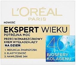 Parfémy, Parfumerie, kosmetika Denní krém na obličej - L'Oreal Paris Age Specialist Expert Day Cream 40+