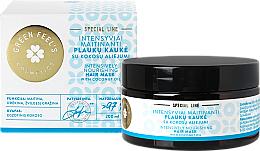 Parfémy, Parfumerie, kosmetika Intenzivní vyživující vlasová maska s kokosovým olejem - Green Feel's Hair Mask Intensively Nourishing