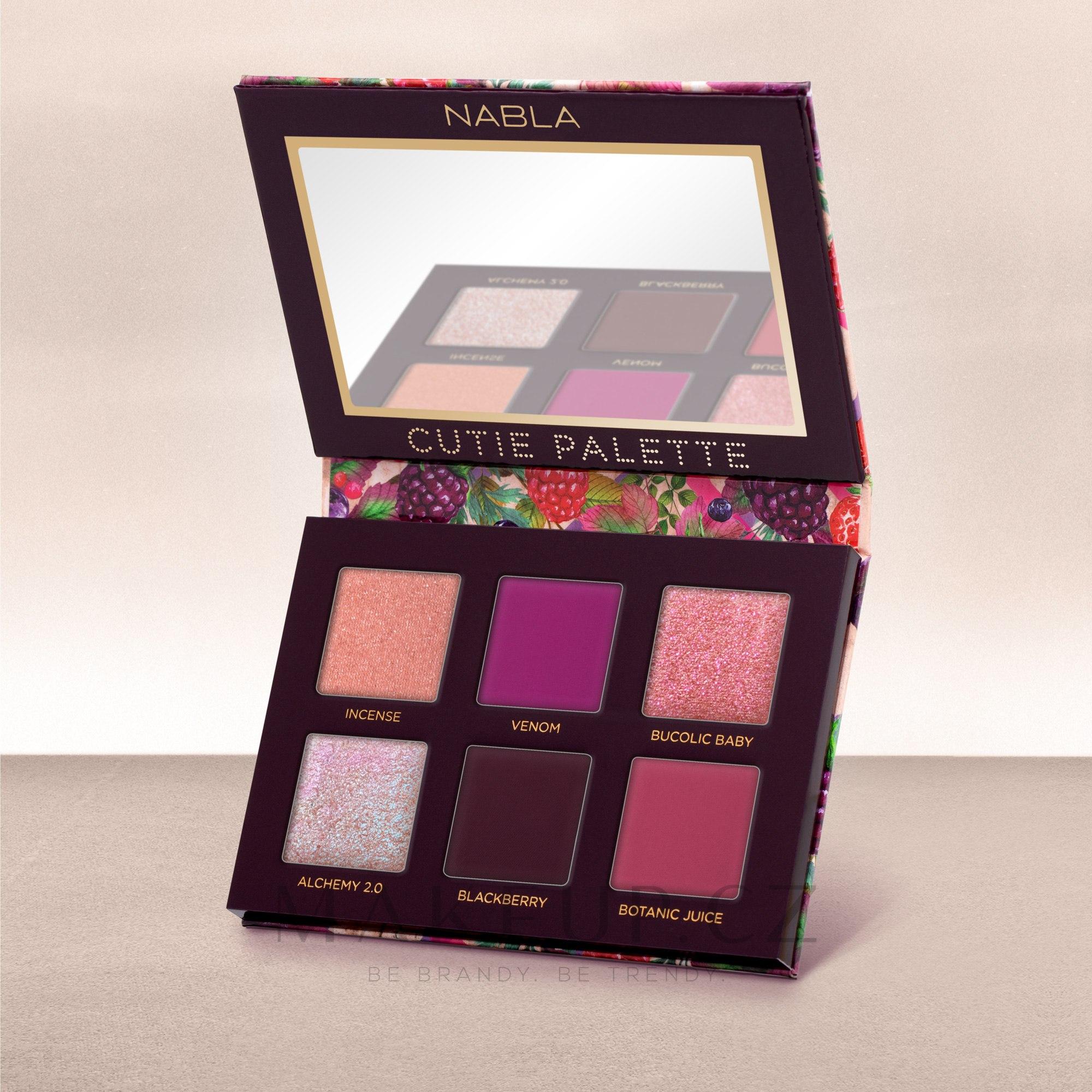 Nabla Cutie Collection Palette Wild Berry - Paleta očních