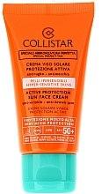 Parfémy, Parfumerie, kosmetika Opalovací krém na obličej pro citlivou pleť - Collistar Active Protection Sun Face Cream SPF 50+