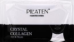 Parfémy, Parfumerie, kosmetika Kolagenová maska na krk - Pilaten Collagen Crystal Neck Mask