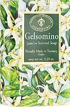 Parfémy, Parfumerie, kosmetika Přírodní mýdlo Jasmín - Saponificio Artigianale Fiorentino Masaccio Jasmine Soap
