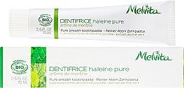 Parfémy, Parfumerie, kosmetika Zubní pasta - Melvita Dentifrice Pure Breath Toothpaste