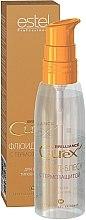 Parfémy, Parfumerie, kosmetika Fluid-lesk s termoochranou pro všechny typy vlasů - Estel Professional Curex Brilliance Fluid