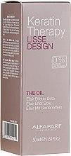 Parfémy, Parfumerie, kosmetika Keratinový olej na vlasy - Alfaparf Lisse Design Keratin Therapy Oil