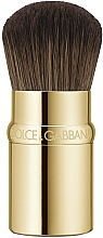 Parfémy, Parfumerie, kosmetika Štětec na make-up - Dolce&Gabbana Retractable Kabuki Foundation Brush