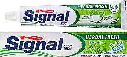 Parfémy, Parfumerie, kosmetika Zubní pasta s bylinkami - Signal Family Herbal Fresh Toothpaste