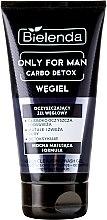 Parfémy, Parfumerie, kosmetika Čistící gel na obličej - Bielenda Only For Men Carbo Detox Gel