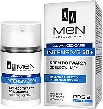 Parfémy, Parfumerie, kosmetika Regenerační krém na obličej - AA Men Advanced Care Intensive 50+ Face Cream Rebuilding
