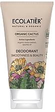Parfémy, Parfumerie, kosmetika Deodorant Hebkost a krása - Ecolatier Organic Cactus Deodorant